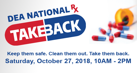 DEA National RX Take Back Event