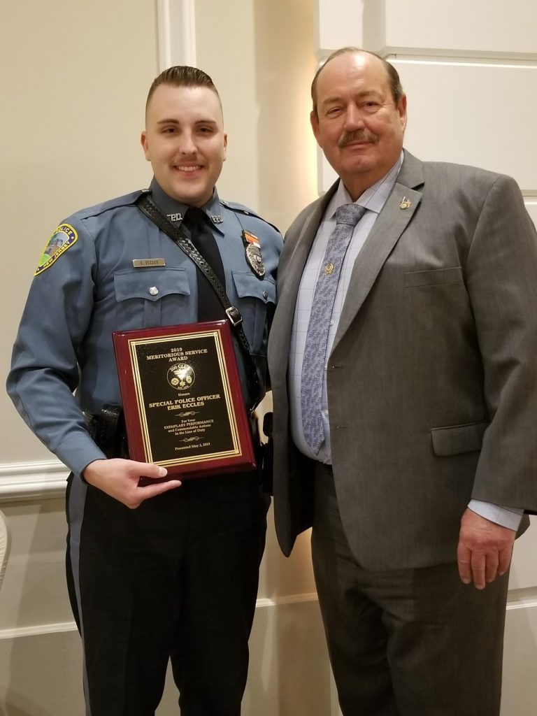 Frenchtown Police Officer Presented With Life Saving Award